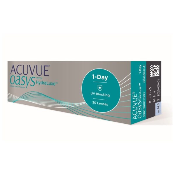 Acuvue Oasys Hydralux Dailies 30 pack-min
