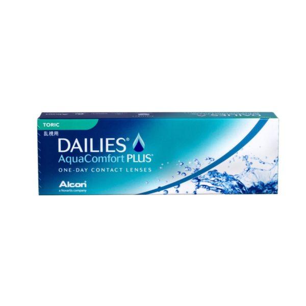 Aqua Comfort Plus Dailies Toric 30 pack-min