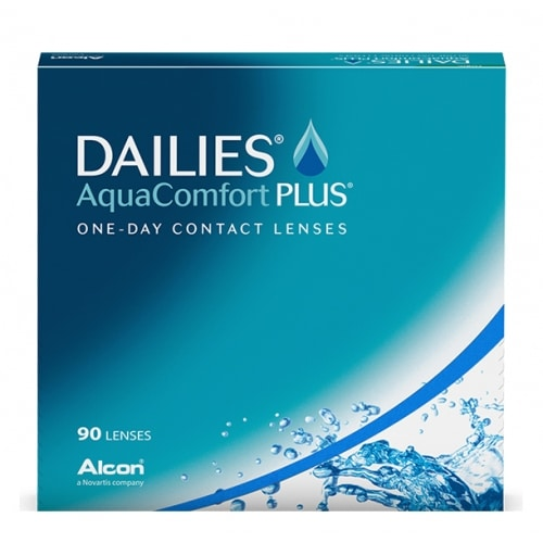 Aqua Comfort Plus Dailies 90 pack