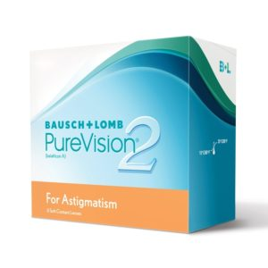 Purevision 2HD for Astigmatism Monthly 6 pack
