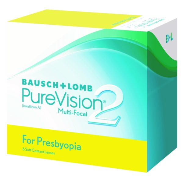 B&L Purevison 2 Multifocal Monthly 6 pack