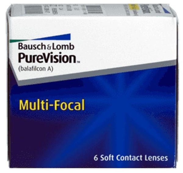 B&L Purevison Multifocal Monthly 6 pack