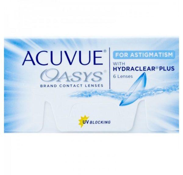 Acuvue Oasys for Astigmatism 2-weekly 6 pack