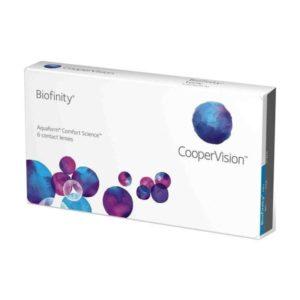 Biofinity Monthly 6 pack