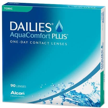 Aqua Comfort Plus Dailies Toric 90 pack