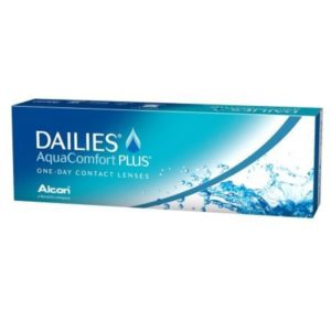 Aqua Comfort Plus Dailies 30 pack