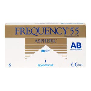 Frequency Aspheric Monthly 6 pack