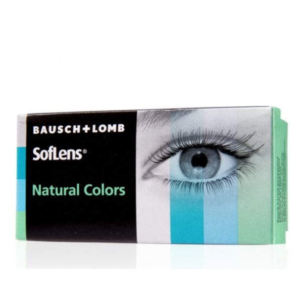 Soflens natural colours Monthly 2 pack